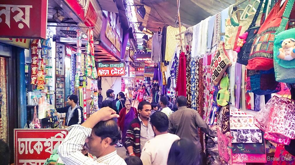 Gariahat, Kolkata street market