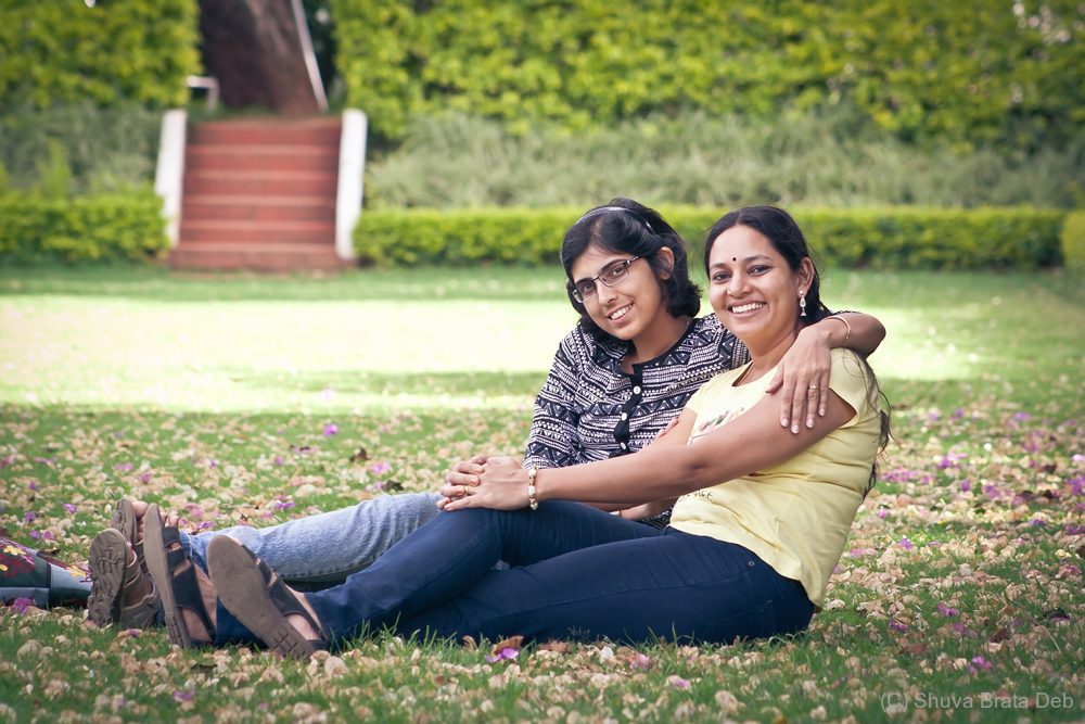 Lipika and Vidhya