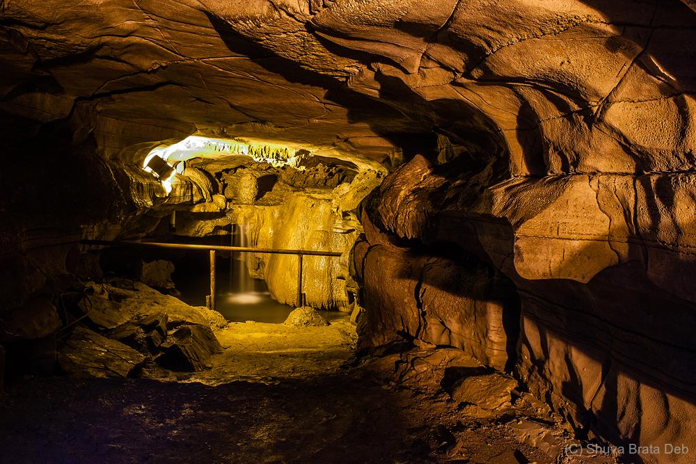Patala Ganga inside a cave?