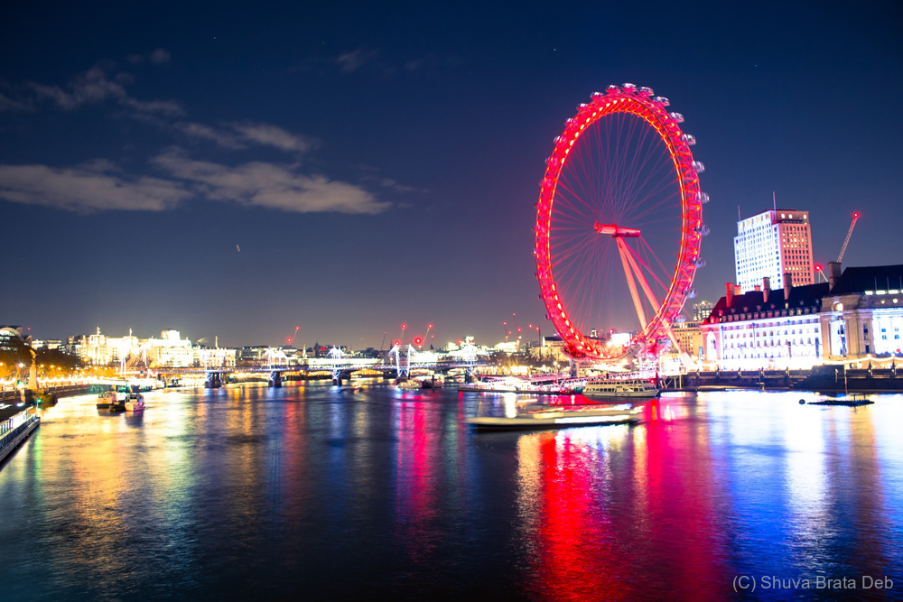 London at night, I