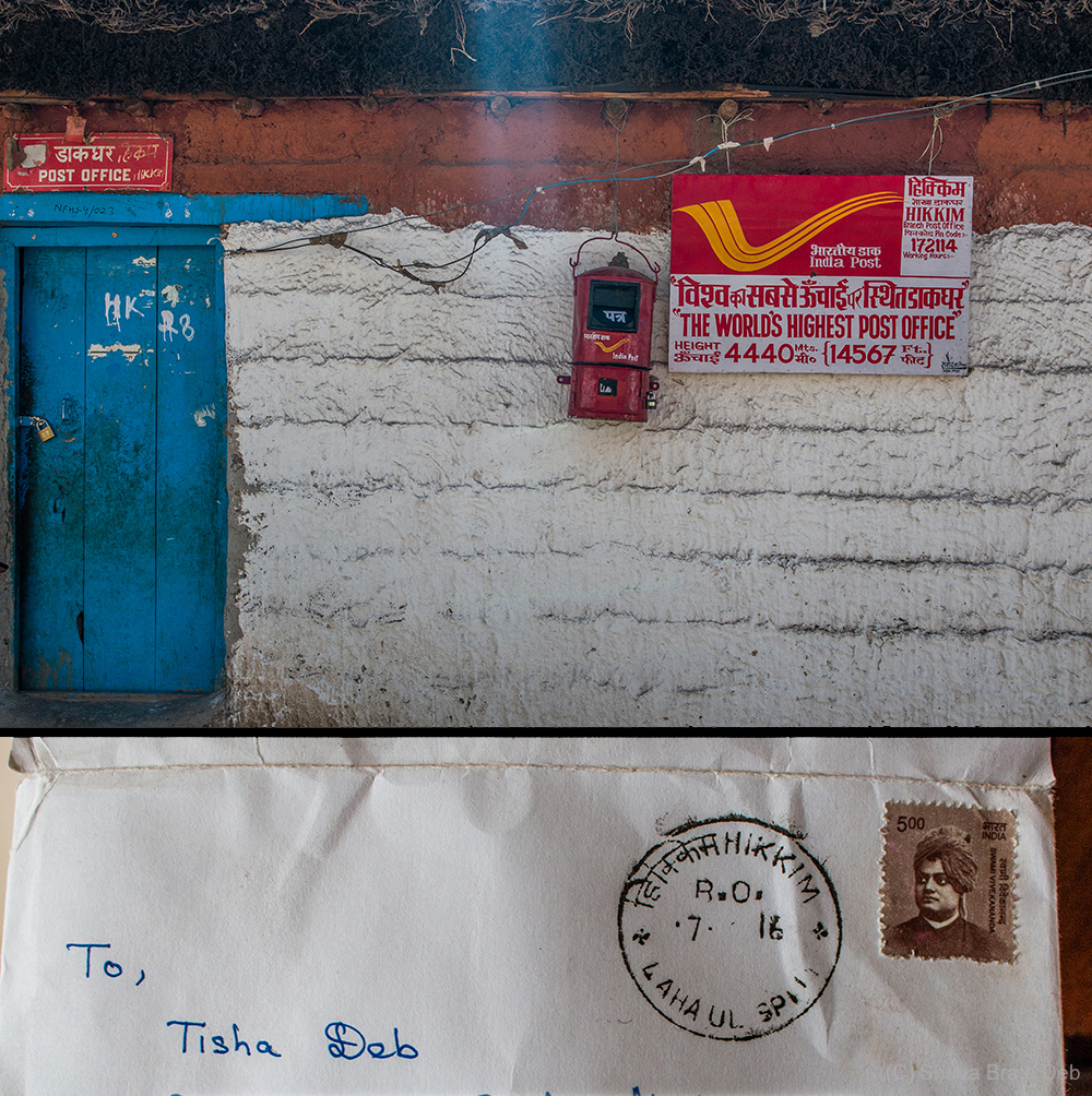 Hikkim, world's highest post office.
