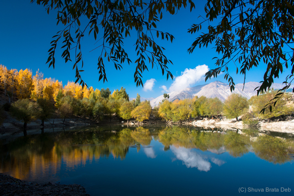 The beautiful Nako Lake