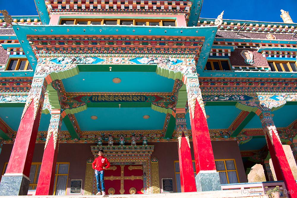 Sakya Tangyud Monastery at Kaza