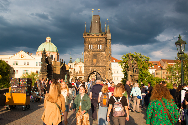 About to rain @ Charles Bridge @ Prague