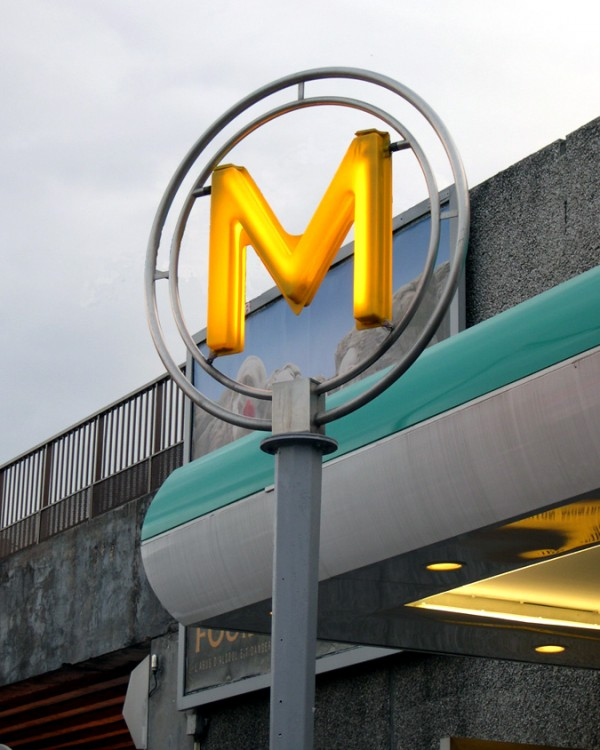 Métro Yellow M