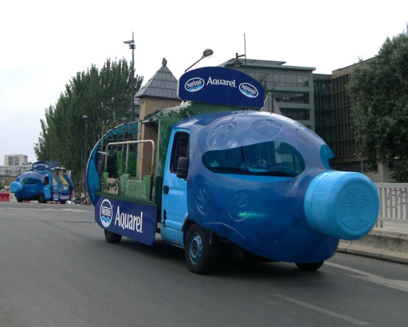The funny cars of Le Tour de France - 1