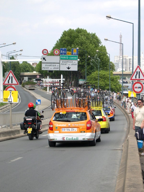 Help to the cyclists