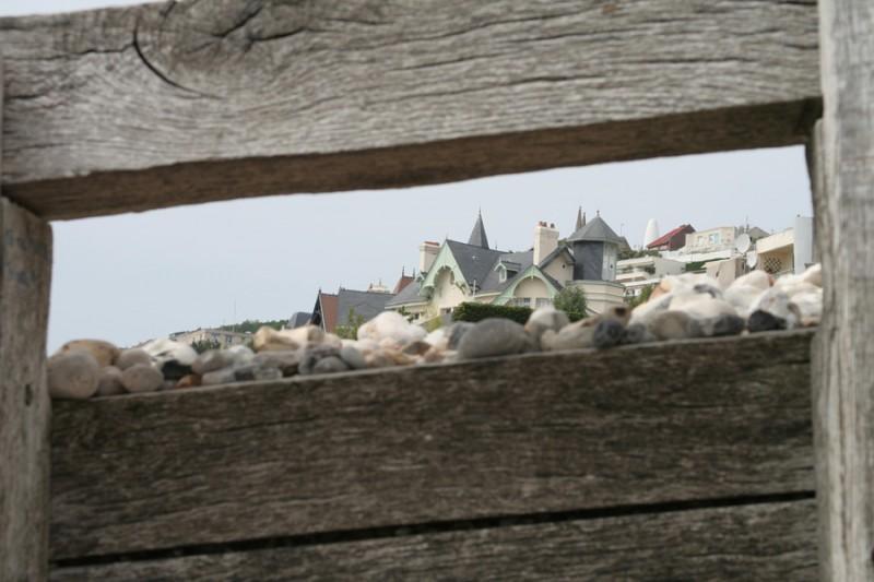 """Sainte Adresse"" view through"