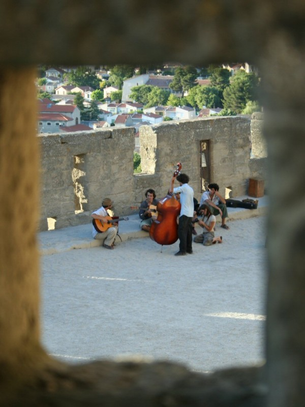 Musicians in Carcassonne