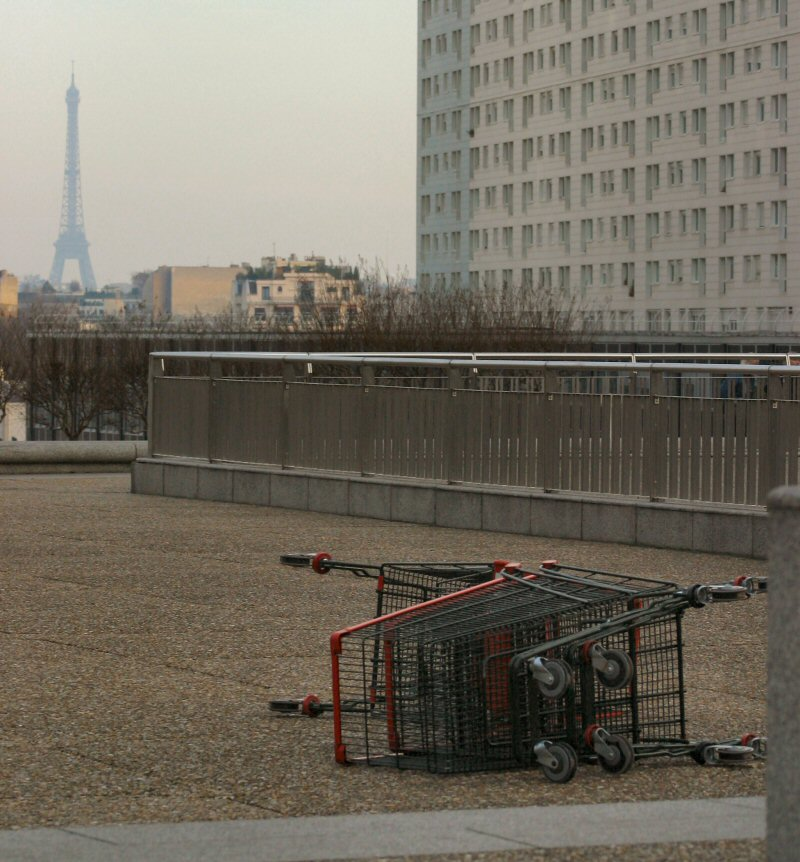 Paris after nuclear war.
