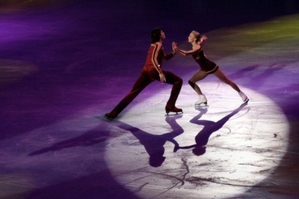 Tatiana Totmianina and Maxim Marinin