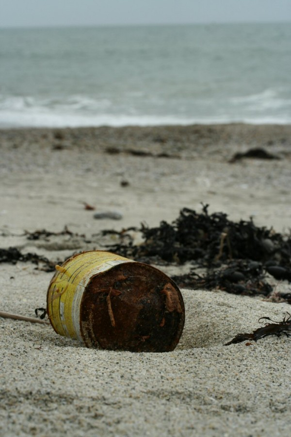 Beach details : Pollution.