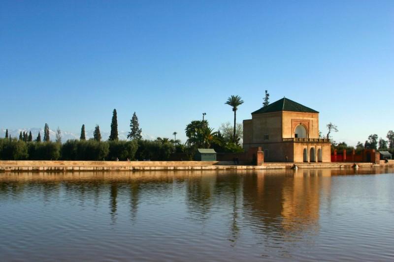 Marrakech: Bassin de la Ménara
