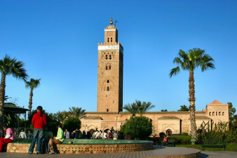 Marrakech: La Koutoubia