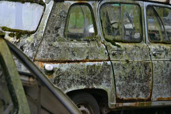 Old Renault 4L