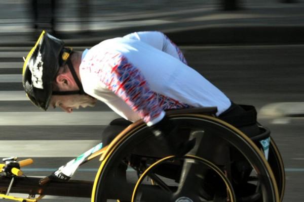 Marathon de Paris 2006 : handisport.