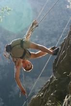 Julien my climbing cousin