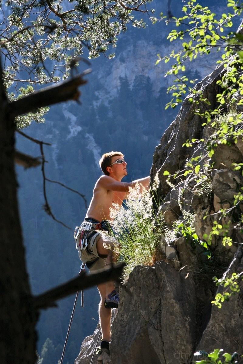 Climb climb to the top!
