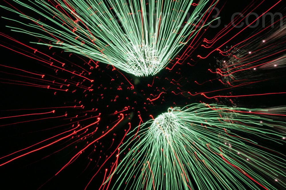 Firework in Annecy