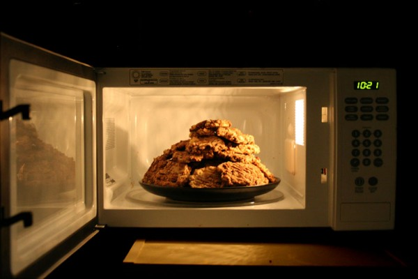 Cookies in the Microwave