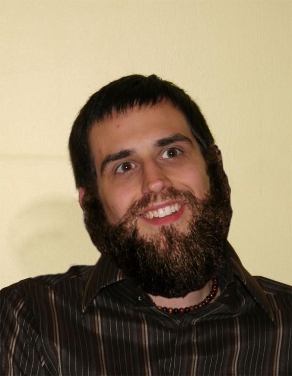 me with a beard