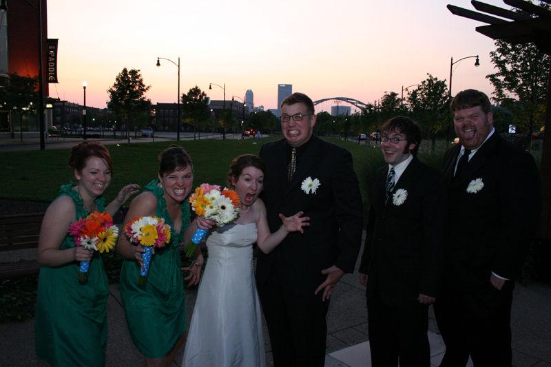 wedding funny faces