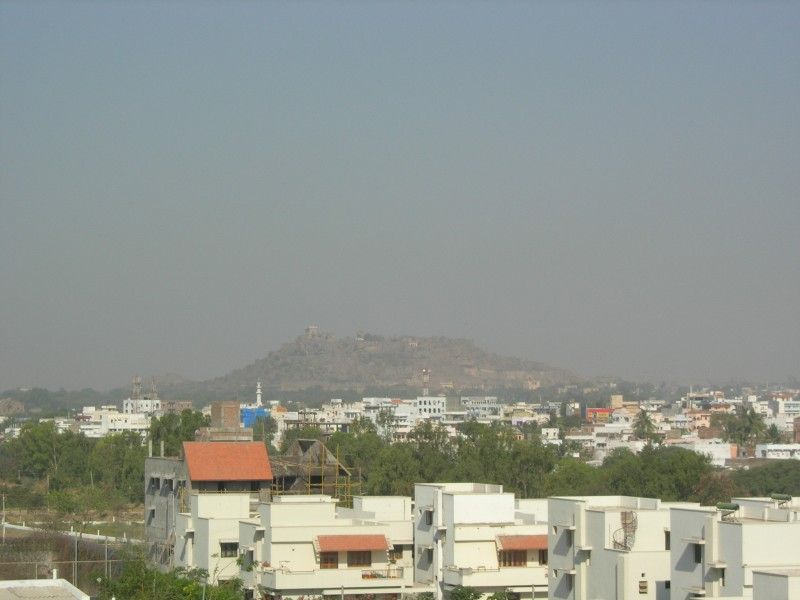 Golkonda Forte as seen from my house