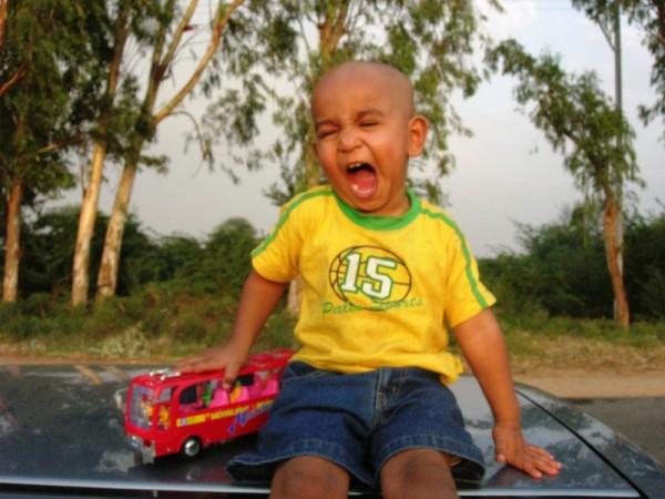 My son Tej