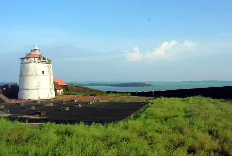 Light House at Aguda Forte, Goa