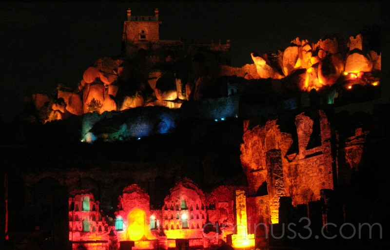 Golkonda Fort - Sound and Light Show