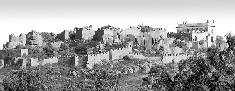 Golconda Fort!
