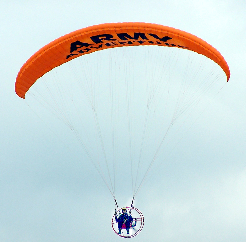 Powered Parachute Flying