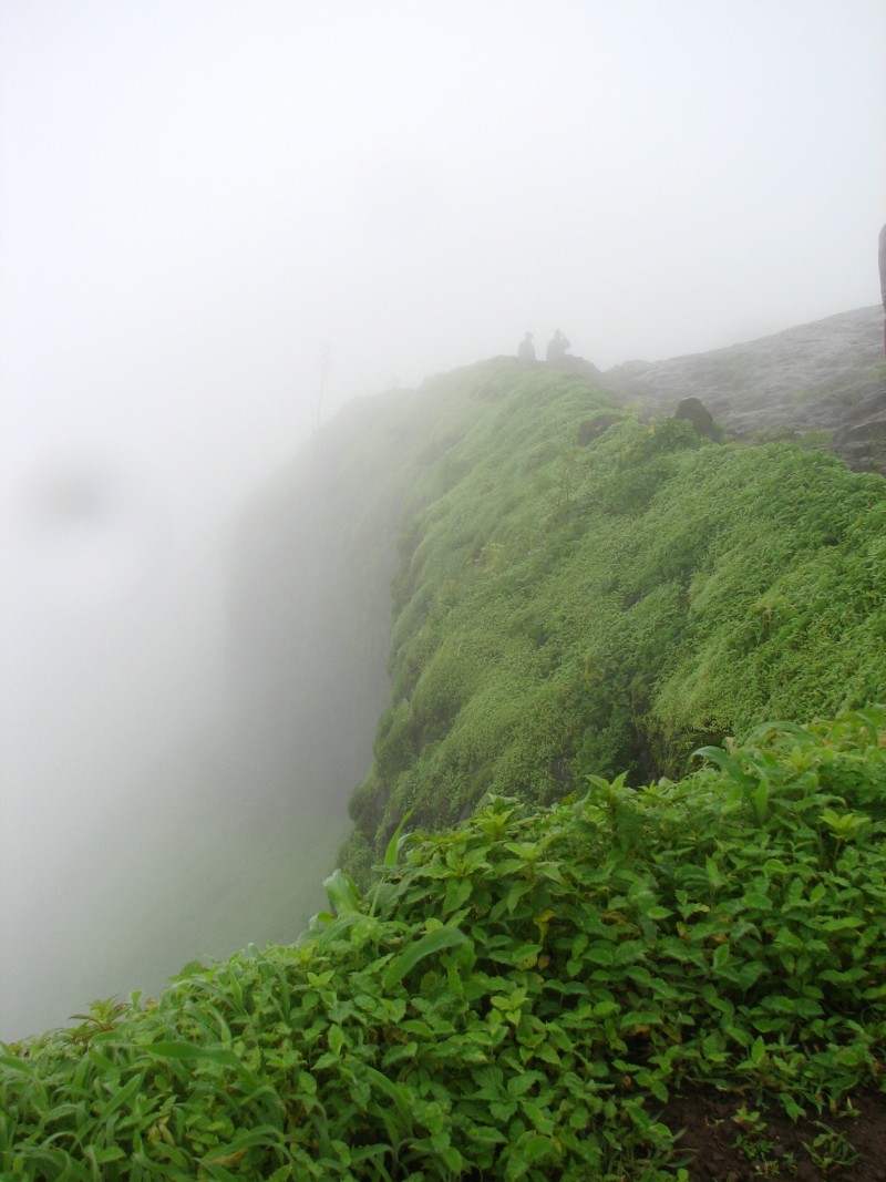 Sihagad Fort, West side.