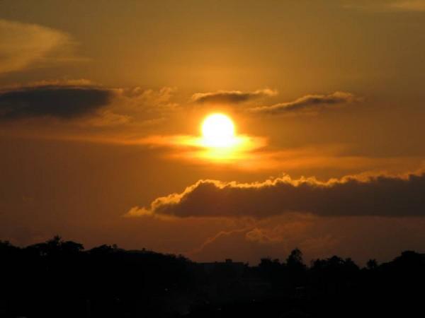 A sunset !