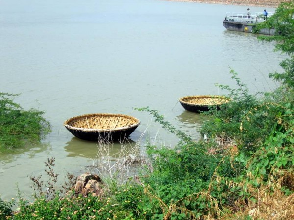 Small Boats at Nagarjuna Sagar