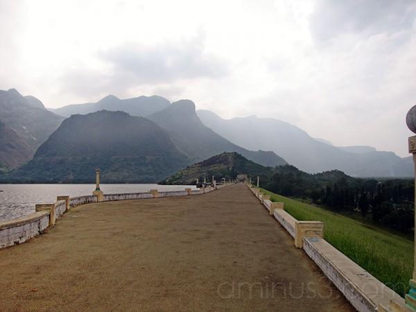 View at Pollachi Dam