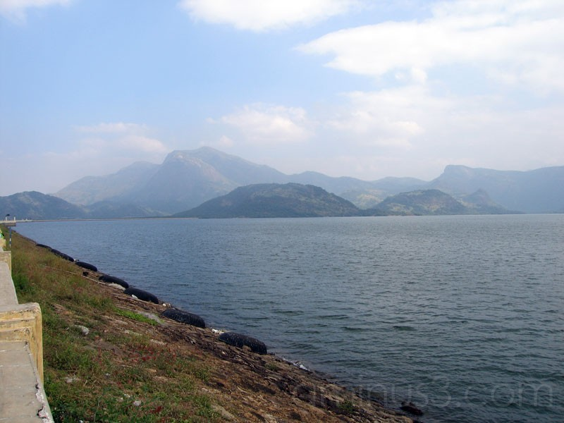 Remaining View of Dam