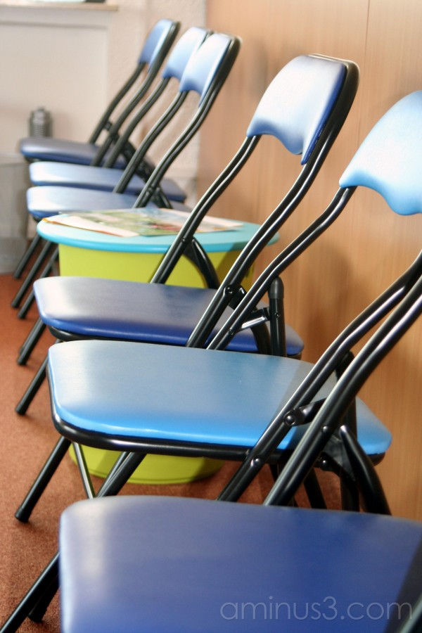 chairs, blue
