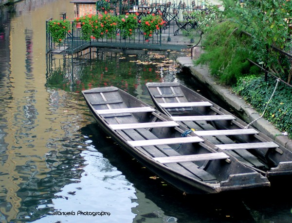 colmar france boat canal venice alsace