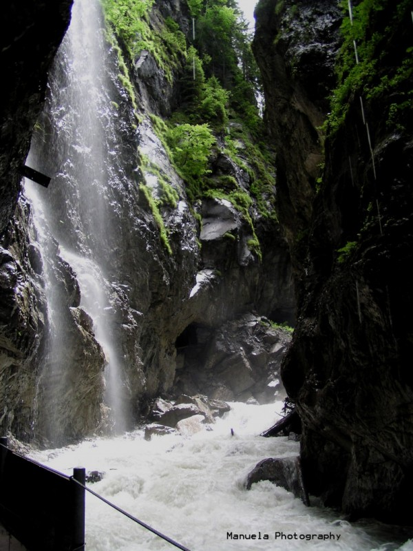 river germany rapid gorge bavaria partnachklamm