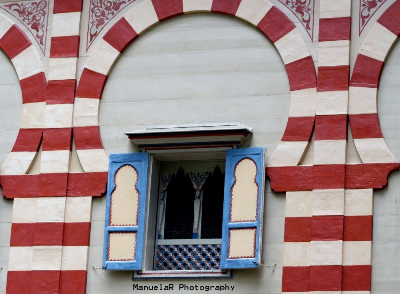 house gardens palace germany window moroccan