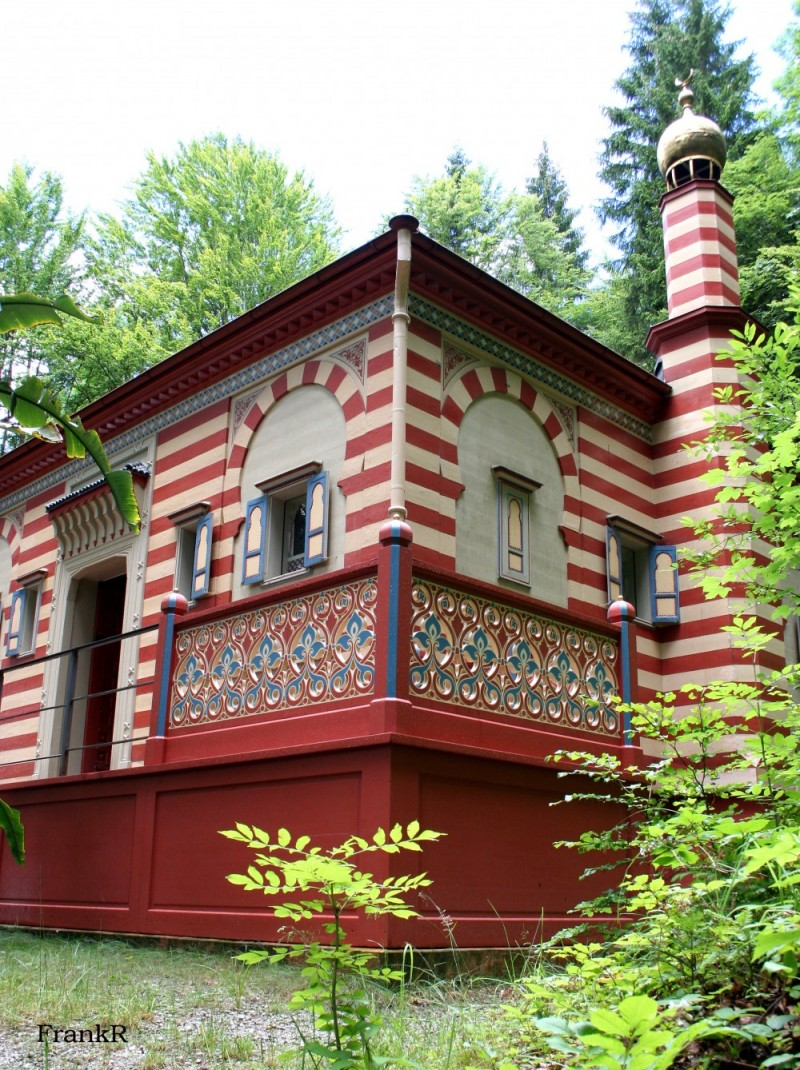house gardens palace germany moroccan linderhof