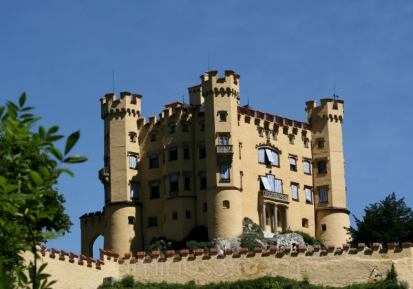 king castle germany bavaria ludwig hohenschwangau