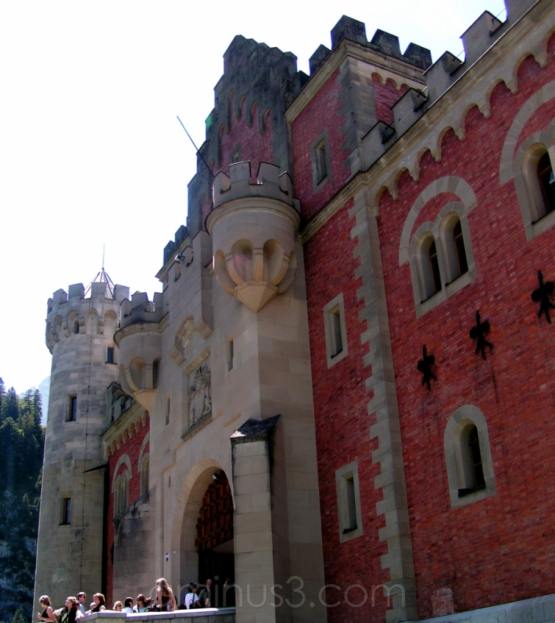 king castle germany bavaria neuschwanstein ludwig