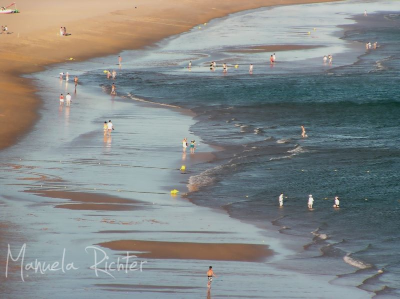 sea sun sand beach holiday vacation portugal blue