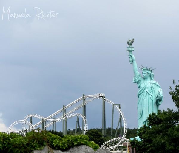 heide park recreation rides amusement park germany