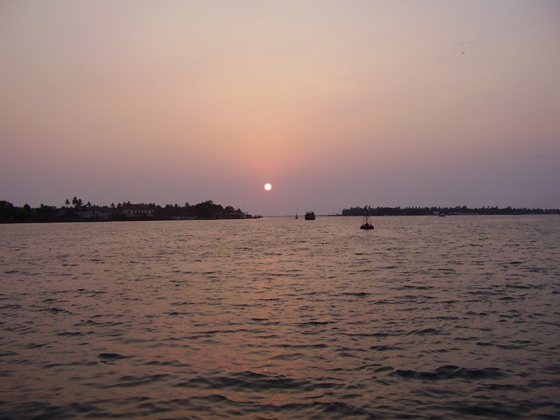 Sunset at Cochin