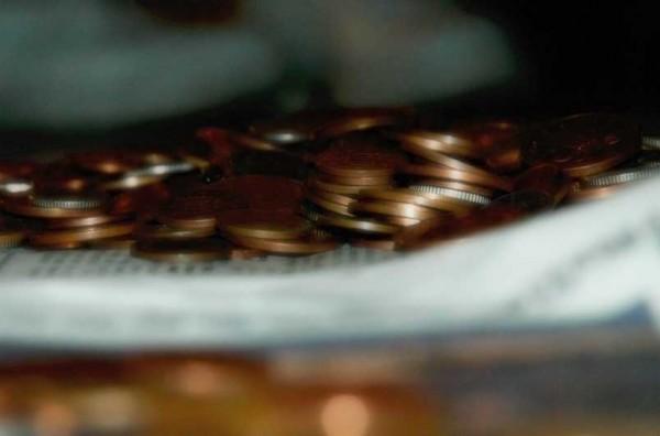 coins...