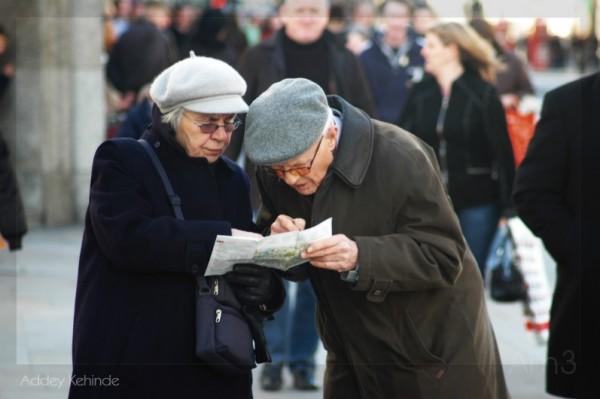Senior Tourists...