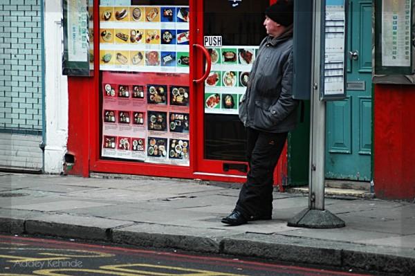 Awaiting the bus...